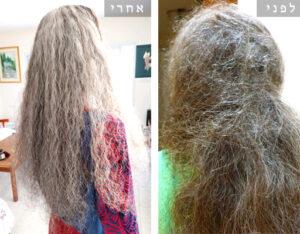 התרת קשרים קשים בשיער